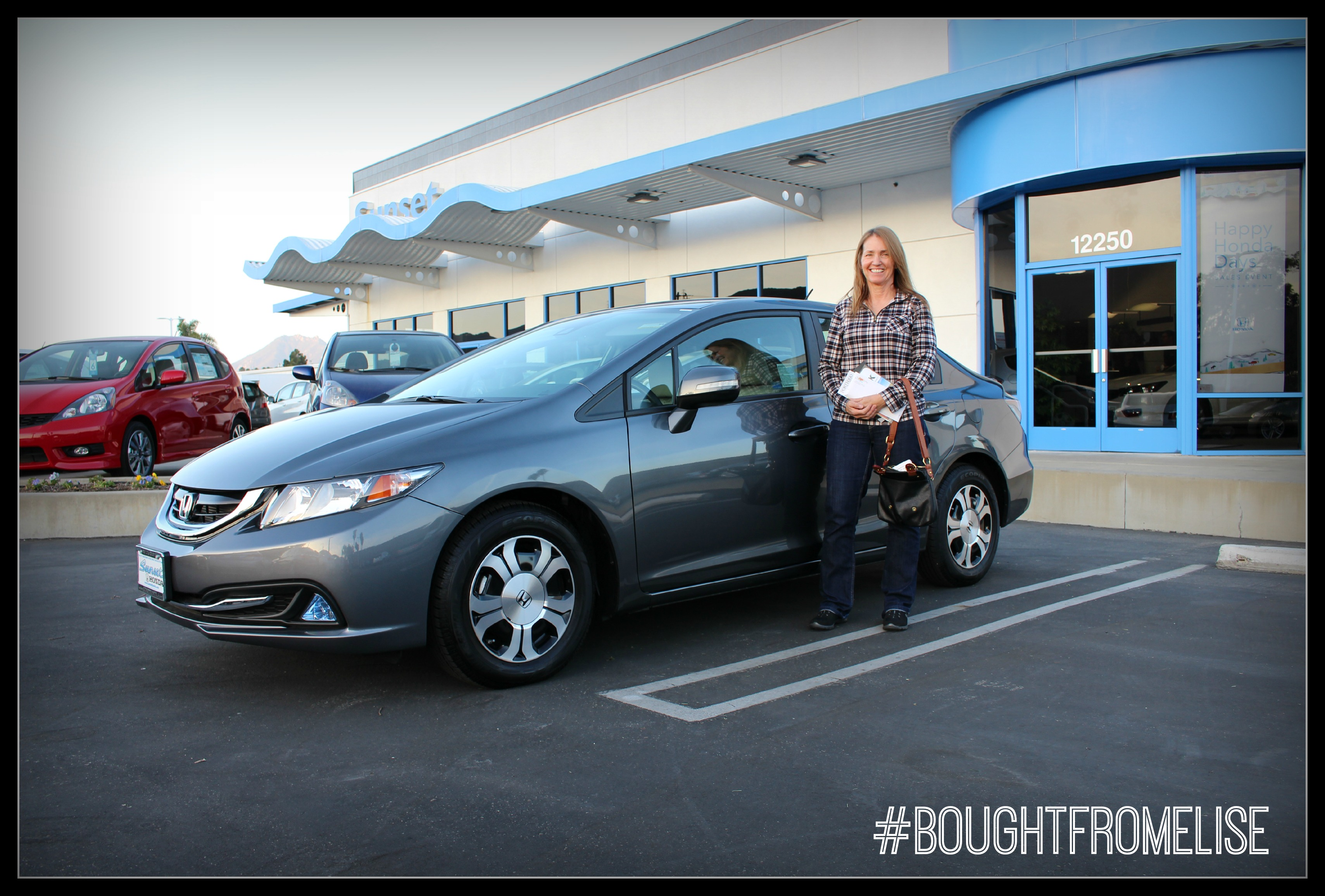 Meet Laurel: Bought A Honda From Elise At Sunset Honda In San Luis Obispo